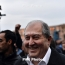 Sarkissian to attend Zarubishvili's swearing-in ceremony