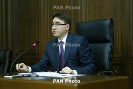 Ходатайство об аресте бывшего вице-премьера Армении подано в суд