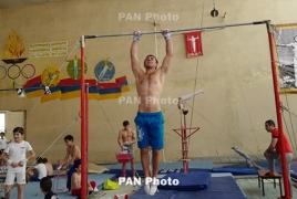 Армянский гимнаст завоевал золото в многоборье на Кубке Воронина