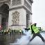 Փարիզում ոստիկանությունն արցունքաբեր գազ է կիրառել «դեղին բաճկոնների» դեմ