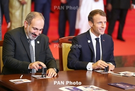 Macron: Elections showed Armenians committed to democratic values