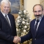 Armenia's Pashinyan meets OSCE envoy over Karabakh