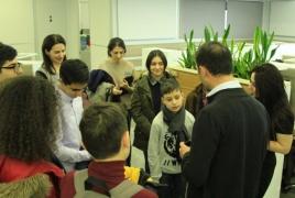 VivaCell-MTS holds open doors event for UNICEF program children