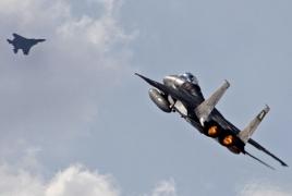 Israeli warplanes conduct low altitude flights over Lebanon