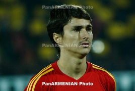 Marcos Pizzelli named Armenia's best football player of 2018