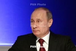 Путин поздравил Кочаряна с наступающими праздниками