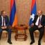 Acting Armenian PM, Karabakh President meet in Yerevan