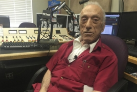93-year-old Armenian DJ connects inmates and families on American radio