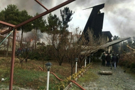 Boeing-707 crashes in residential area near Tehran