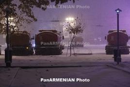Մարությանը Երևանում ձնամաքրումը բավարար է գնահատել