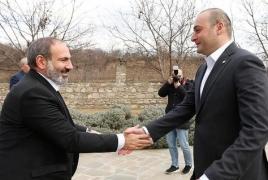 Armenia, Georgia agree to hold business forum in Dilijan