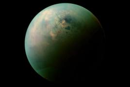 Rain discovered on Saturn's moon Titan