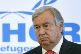 UN chief congratulates re-appointed Armenian PM