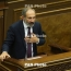 Armenian PM rules out conspiracy in Karabakh process