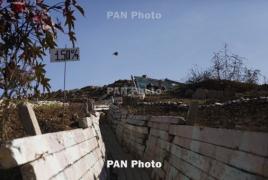 Karabakh: 2500 shots fired by Azerbaijan in past week