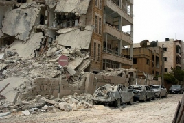 Female suicide bomber hits Syrian government building in Idlib
