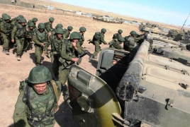 Russian troops expand presence along Turkish border