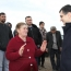One more border Armenian village gets new street lighting system