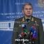 Russian Defense chief thanks Armenia for Syria humanitarian aid