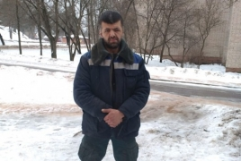 Armenian man saves girl from burning home in Russia