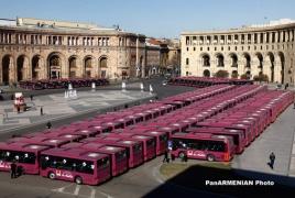 Երևանի տրանսպորտային ցանցը կհամալրվի 70 ավտոբուսով