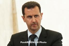 Assad tells Kurds Syrian army, not U.S. will protect them