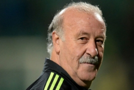 Vicente del Bosque will arrive in Armenia this summer