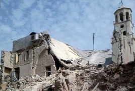 Aleppo Armenian church to reopen in spring after restoration