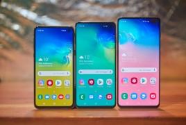 Samsung представила модели смартфонов серии Galaxy S10