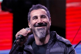 Serj Tankian has an artful message to Kiwis on Armenian Genocide