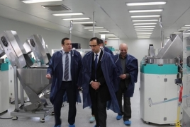 Production of medical supplies established in Armenia