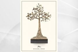 Michael Aram donates proceeds from Apricot Tree of Life sales to ANCA