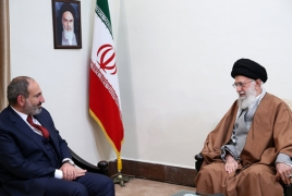 Iran Supreme Leader wants stronger ties with Armenia