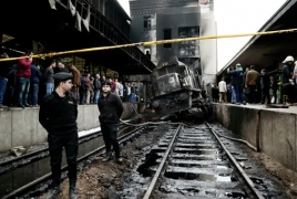 No Armenians among Cairo train station crash casualties