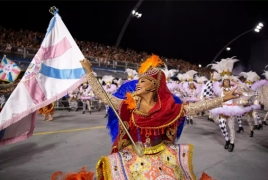 Armenian culture paraded through São Paulo at Brazilian Carnival