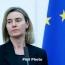 EU ready to support Armenia's reform agenda: Mogherini