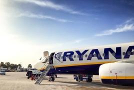 Ryanair planning to launch regular flights to Armenia