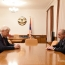 Artsakh President, OSCE officials talk contact line situation