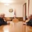 Президент Арцаха обсудил с Каспршиком ситуацию на линии соприкосновения