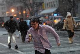 В январе в Армении было произведено почти в 40 раз больше мороженого