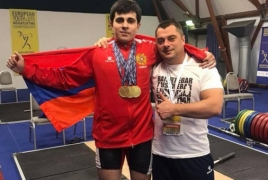 Armenian lifters snatch silver, bronze at Youth World Championships