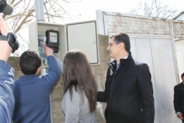 Energy-saving system installed in one more remote Armenian village