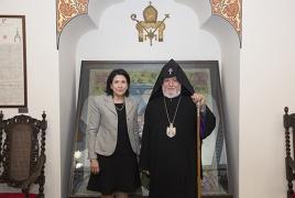 Կաթողիկոսը ողջունում է ՀՀ և Վրաստանի ընդլայնվող գործակցությունը