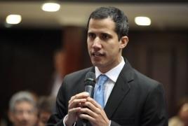 Pranksters call Venezuela's Guaido as Swiss President