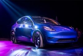 Tesla Model Y unveiled with a starting price tag of $39,000