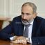 Пашинян провел телефонную беседу с Назарбаевым