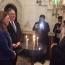 Pompeo visits Armenian chapel of Jerusalem's Holy Sepulcher Church