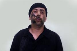 Father of jailed Armenian hostage visits Azerbaijani trespasser