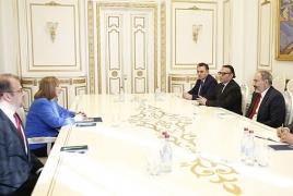 Премьер РА и новый посол США обсудили урегулирование карабахского вопроса