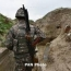 Karabakh frontline troops control contact line situation